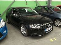 Audi A3 SE TDI-Finance Available to People on Benefits and Poor Credit Histories-