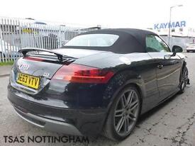 2013 Audi TT Black Edition Roadster 2.0 TDI 170 Roadster Quattro Damaged Salvage