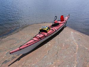 Fiberglass ocean kayak & gear-Value $5,000-Save 60% off retail