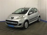 Peugeot 107 URBAN S-A-Finance Available to Those on Benefits and Poor Credit Histories-