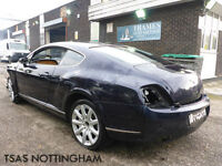 2005 Bentley Continental GT 6.0 Auto Blue 100% NOT RECORDED SALVAGE