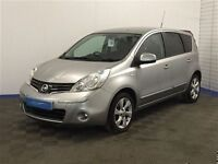 Nissan NOTE TEKNA AUTO-Finance Available to Those on Benefits and Poor Credit Histories-
