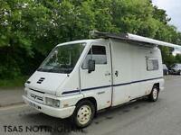 1993 Renault Master T35 D LWB Campervan Motorhome NOT SALVAGE NOT RECORDED
