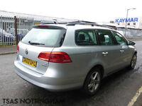 2013 *63* Volkswagen Passat 1.6 TDI 105 BlueMotion Tech S Damaged Salvage