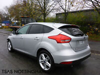 2015 Ford Focus 1.0 T 125 EcoBoost Titanium Silver Damaged Salvage CAT D
