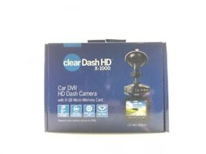 Tristar Clear X1000 Dash Cam HD DVR 8 GB Micro SD card included