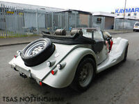 2016 16 REG Morgan Plus Four Cosworth AR Motorsport Silver Damaged Salvage CAT D