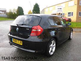 2010 *60* BMW 1 Series 116 D Sport 2.0 Black Damaged Repaired