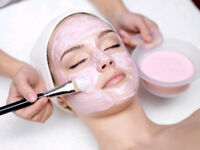 waxing, treading, facial, mani & pedi