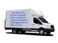 Cheap Man and Van Hire House Removals Office Moving Van Piano Movers Delivery Rubbish Removals
