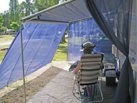 Wind Blocker screens for Fiamma and similar awnings