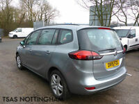 2015 Vauxhall Zafira Tourer 2.0 CDTi 16v 130 Exclusiv Damaged Salvage