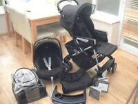 SIMILAR TO PICTURE.... mamas and papas 3 in 1 complete travel system used but great condition