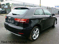 2016 *66* Audi A3 Sport TFSi Black Damaged Salvage CAT D