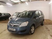 Vauxhall ZAFIRA EXCLUSIV -Finance Available to People on Benefits and Poor Credit Histories-