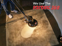 Carpet & upholstery Deep Hot Steam Cleaning Special