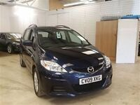 Mazda 5 TS2 AUTO-Finance Available to People on Benefits and Poor Credit Histories-