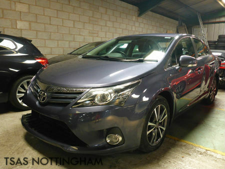 2014 *64* Toyota Avensis Icon 2.2 DIESEL D-CAT 150 Auto Damaged Salvage
