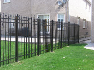 Affordable aluminum fences, gates, columns, privacy panels.