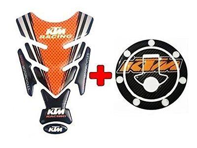 Combo KTM Inspired Tank Pad/ Tank Sticker For DUKE/RC 125/200/390 for sale  DELHI