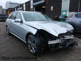 2016 Mercedes-Benz E Class E220 CDI 177 BlueTEC 7G-Tronic+ Damaged Salvage CAT D