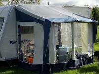 Bradcot Portico Porch Awning in Blue
