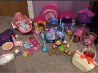 Princess Disney Magiclip Toys Bundle Doll Peppa School Bag