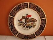 Fox Hunting Plates