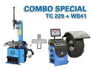 Tire changer and wheel balancer (Brand New)