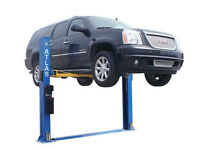 Atlas BP8000 2 Post Bottom Plate Car Lift (8,000lbs Capacity)