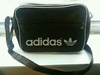 Adidas Retro Bag Brown satchel VGC!!