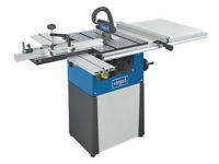 Sheppach TS82 200mm precision table saw, practically new, cast base, semi-pro kit, 2 Freud blades