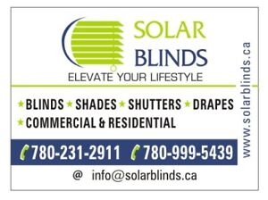 WINDOW BLINDS/SHADES/SHUTTERS- PREMIUM QUALITY, AFFORDABLE PRICE