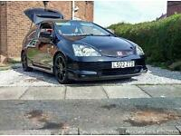 For sale or swaps civic ep3 type r jap mint condition