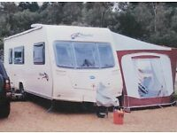 Bailey Pageant Champagne 2008 caravan