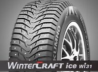 205/60R16,215/60R16,215/65R16 KUMHO ICE Wi31 WINTER/SNOW