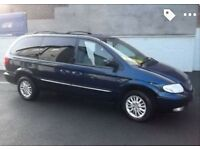 automatic crysler grand voyager 7 seater cd dvd players electric doors tinted wundows leather seats