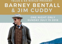 Barney Bentall and Jim Cuddy Concert Tickets
