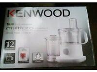 kenwood food processor, mini chopper and blender