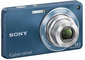 SONY DSC-W350 Digital Camera 14.1MP with Carl Zeiss 4X Opt.Lens