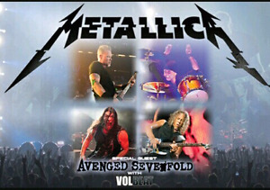 Metallica/Avenged Sevenfold/Volbeat July 16 Toronto