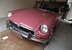 1973 MGB CONVERTIBLE AND HARDTOP, 2ND OWNER