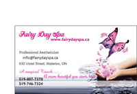 Aesthetic services: Females only:Facial,Massage,Waxing,Mani&Pedi