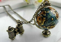 Globe Telescope Charms Pendant - Sweater Chain Necklace