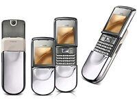 Nokia 8800 Sirocco - Silver