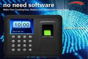 Time Attendance Machine On Promotion Sale! $89/ea only! Save $50