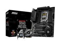 .MSI.TRX 40 PRO 10G DDR4 THREADRIPPER MOTHERBOURD