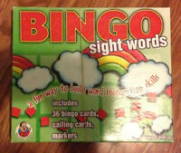 Bingo Sight Words game for sale