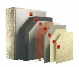 Reduce Heat Loss with External Wall Insulation/ Building Services