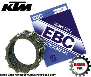 KTM 950 Adventure 06 EBC Heavy Duty Clutch Plate Kit CK5634